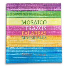 Mosaico De Trazos Palabras Materiales